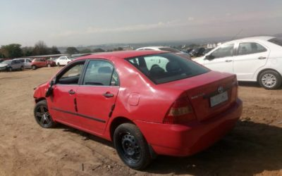 2003 Toyota Corolla 160i Gle AT Stripping For Spares